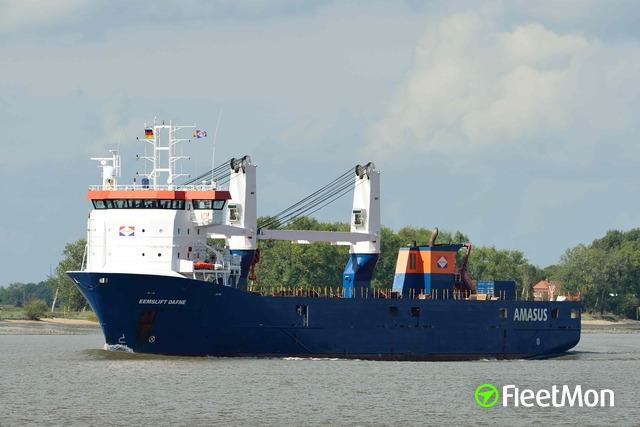 Vessel EEMSLIFT DAFNE (General cargo vessel) IMO 9671448 ...