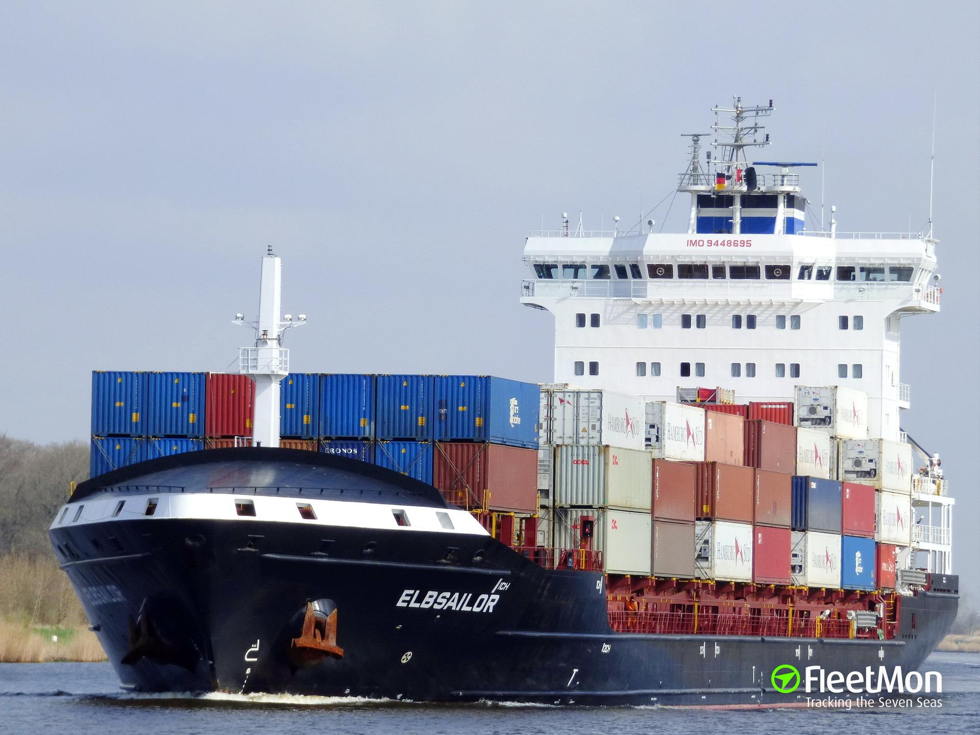 E. R. VISBY grounding blocked Kiel Canal