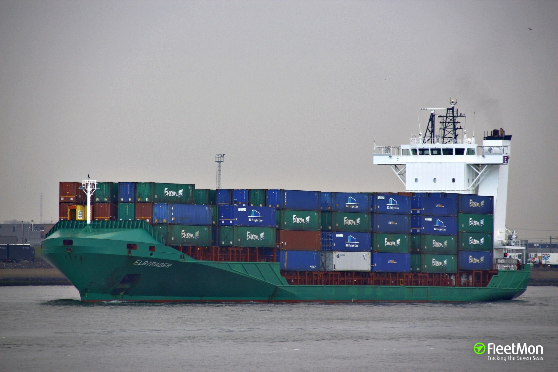 Chief Engineer of container ship died in accident in Dublin
