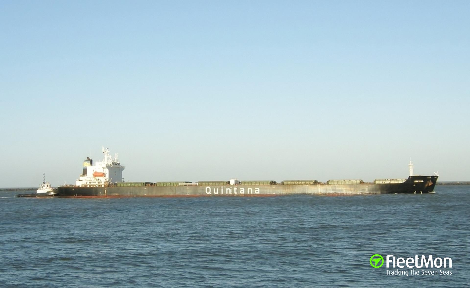 Bulk carrier Elefsis Master died on board, in Table Bay