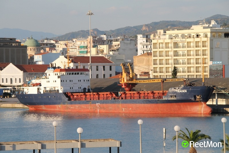 Freighter Trader's Master and Chief Engineer arrested for fuel contraband, Greece