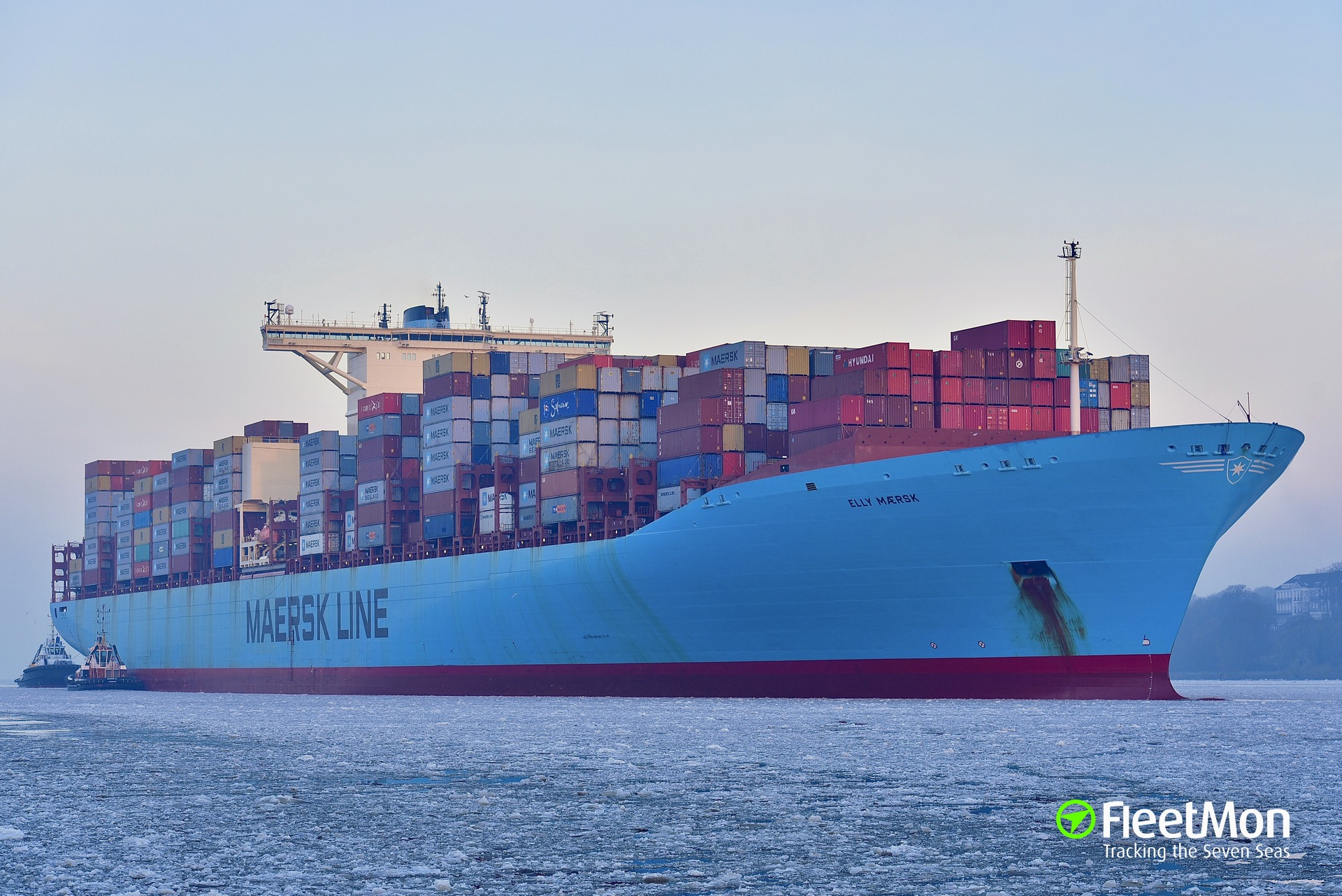 Maersk Line Tops the Idlers League Table