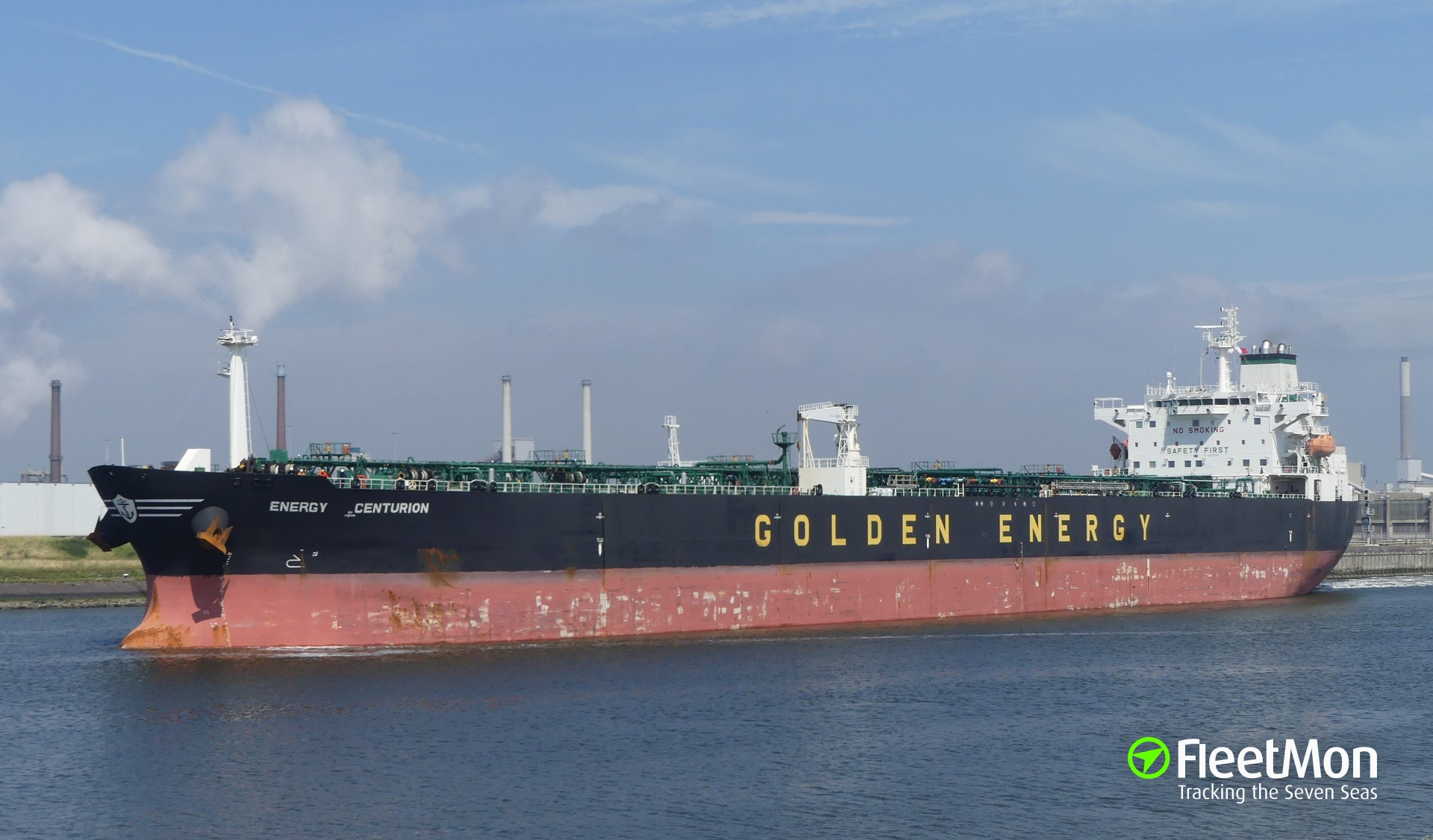 Hijack of the Greek tanker Energy Centurion, Master's report