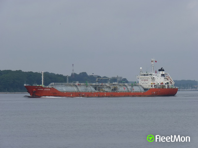 LPG tanker suffered fire, anchored at Kalamata