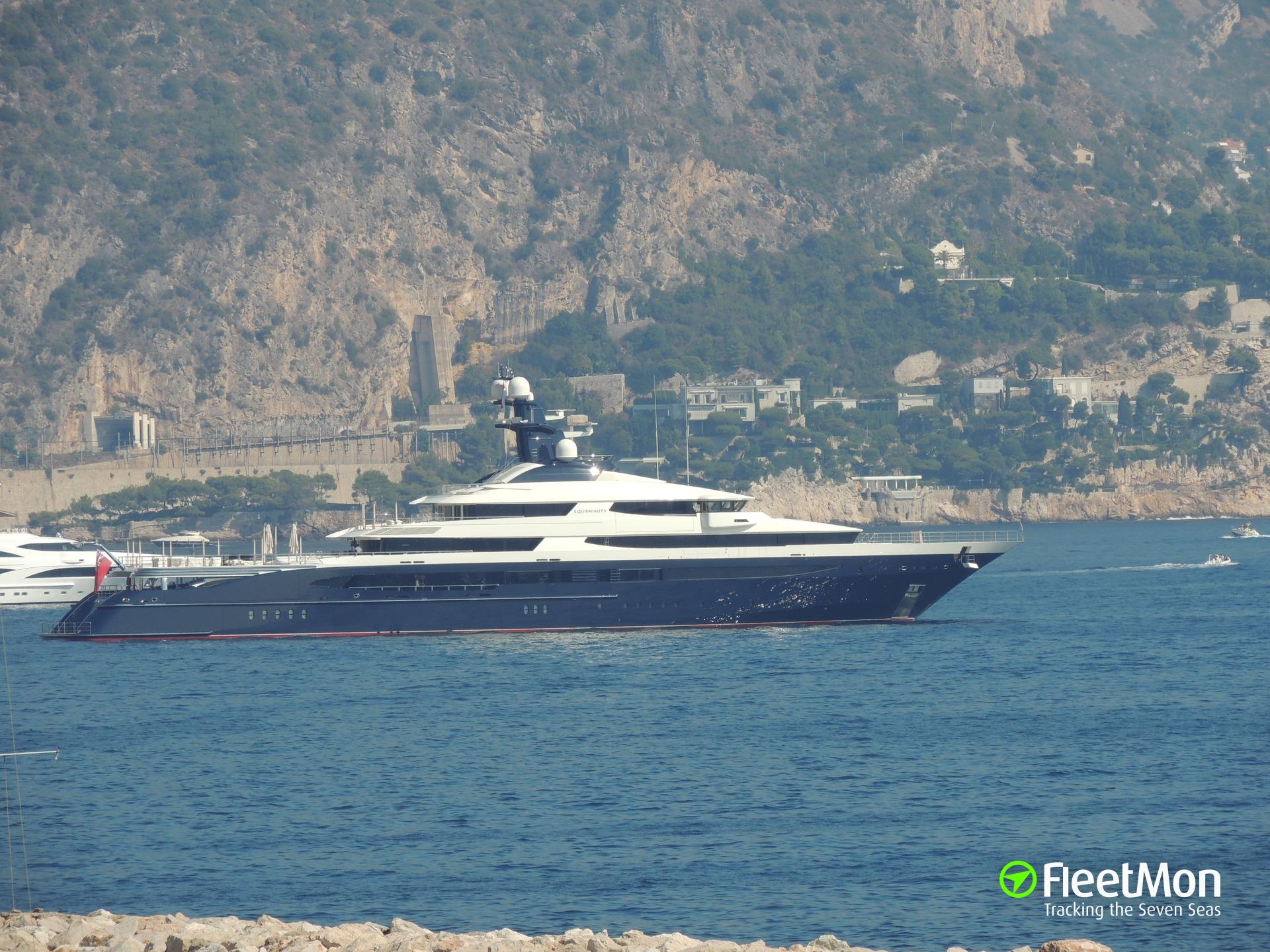 Mega yacht seized, Bali
