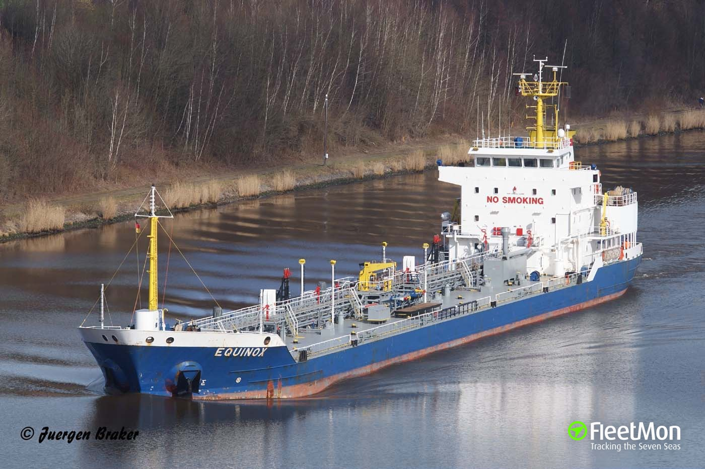 Product tanker Equinox Master and Chief Engineer freed from the captivity, Nigeria