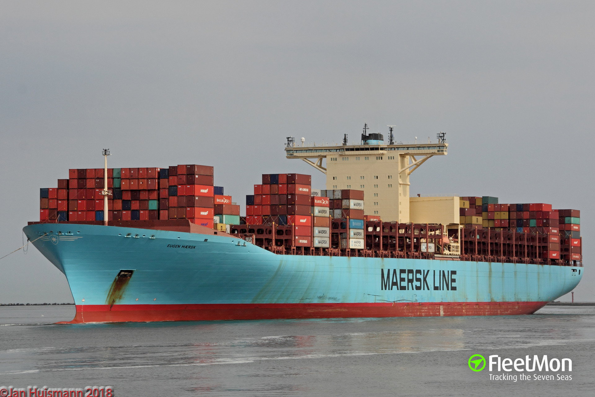 EUGEN MAERSK phase-in to launch 'AE2′ upgrade to superjumbo scale