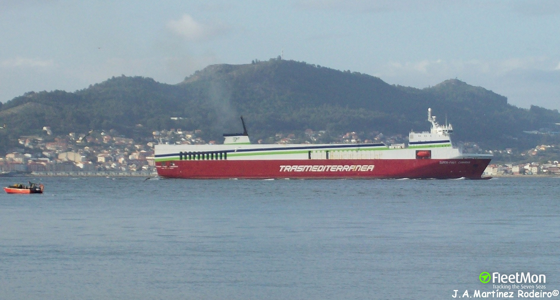 EUROCARGO PATRASSO allided with pier, Greece