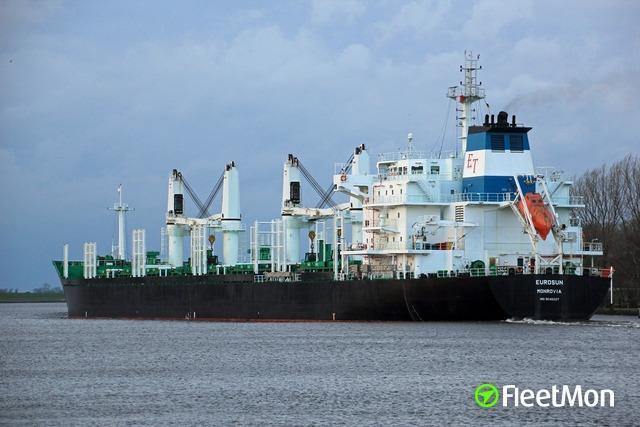 Vessel EUROSUN (Bulk carrier) IMO 9546227, MMSI 636015312