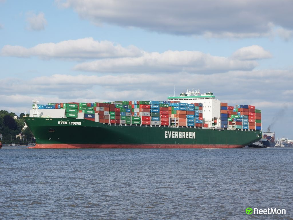 Evergreen Line christened three L-type container ships
