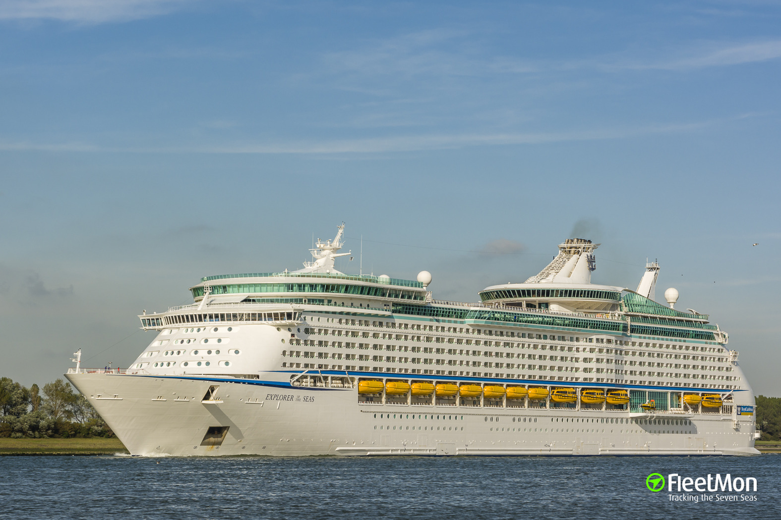 Explorer of the Seas leaves 600 people ill