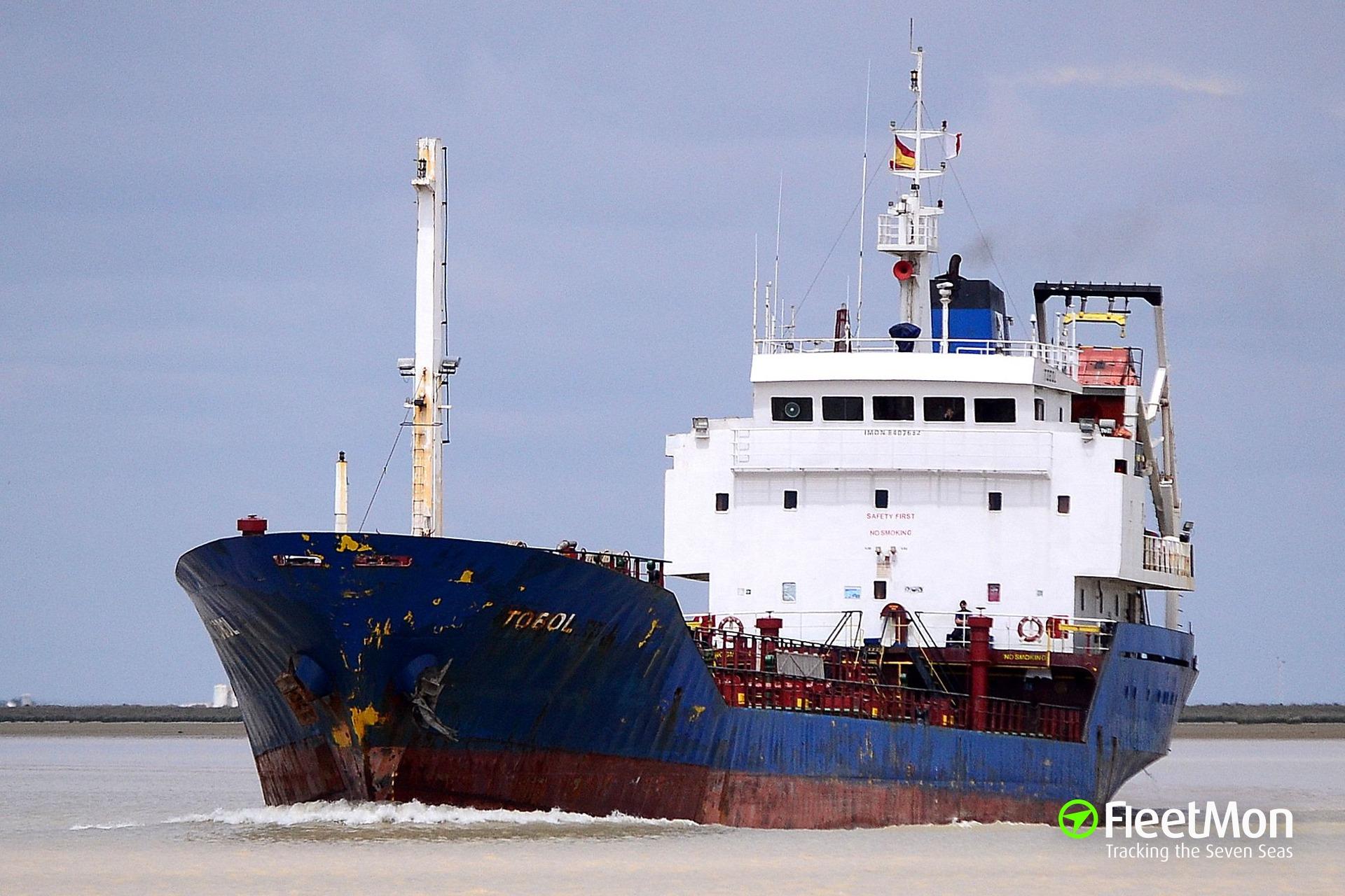 Tanker BOSPOR arrested for seamen smuggling, Ukraine