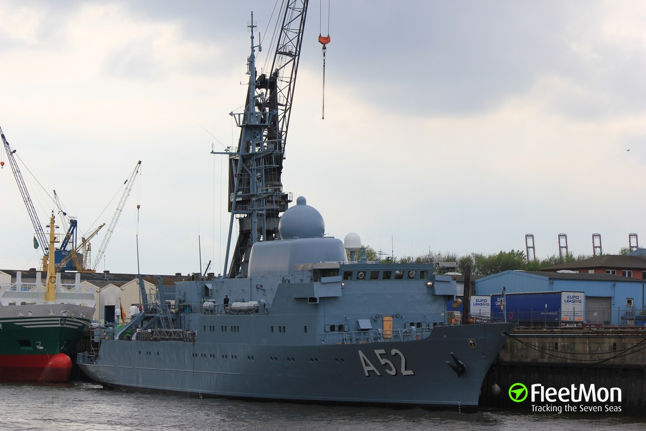 Fgs Security vessel fgs oste (warship) imo —, mmsi 211211470