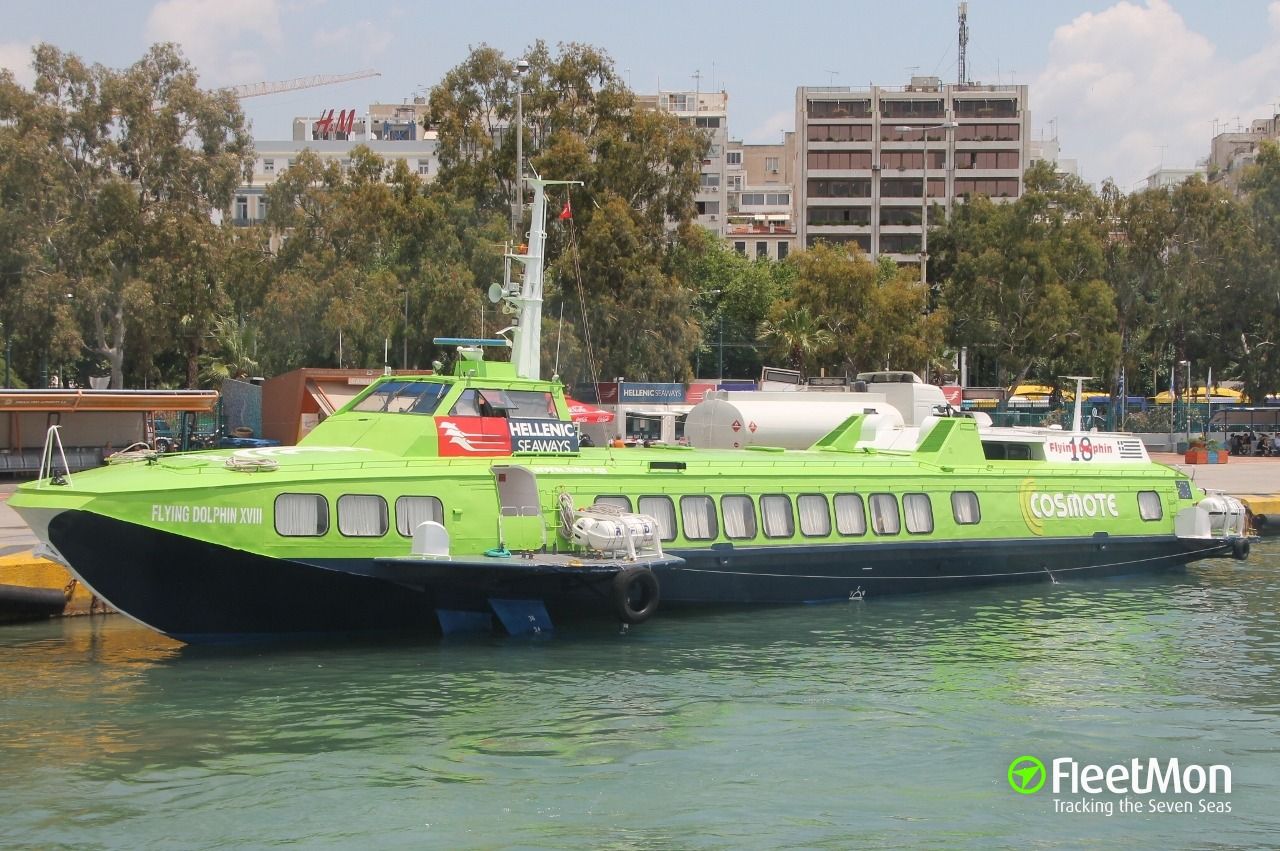 Fast ferry FLYING DOLPHIN XVIII