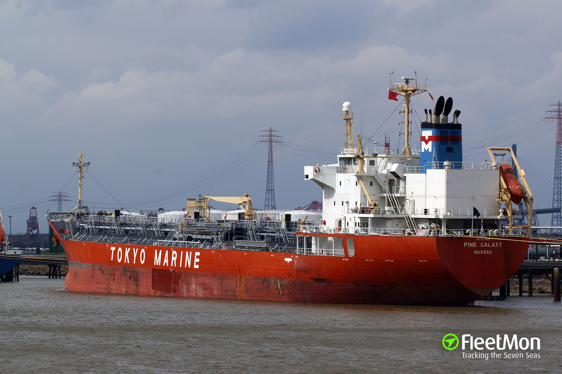 Product tanker Pine Galaxy Update: 1 crew dead