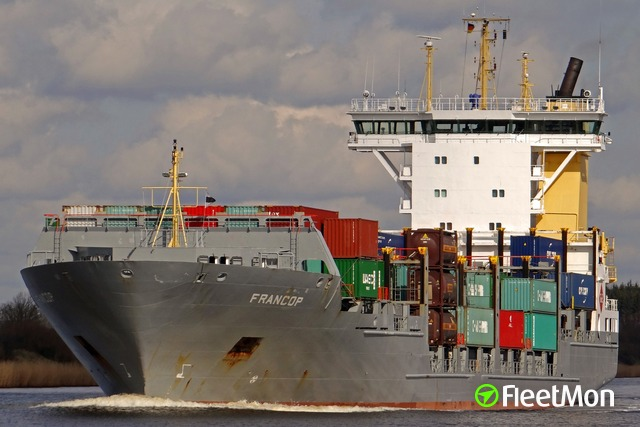 Tragic accident on board of container ship, Dublin
