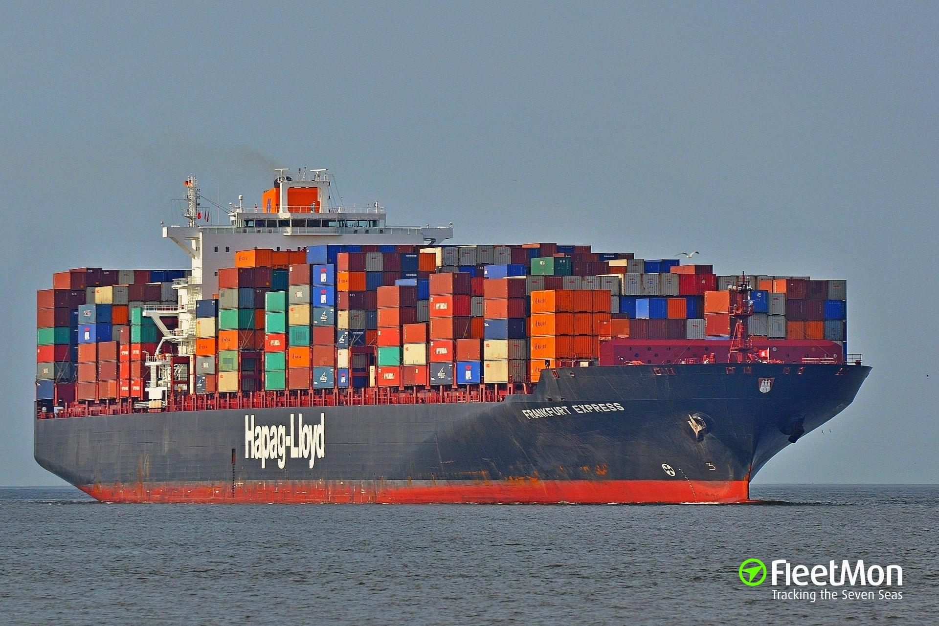 Original wählen guter Service heißester Verkauf One more Hapag-Lloyd's container ship troubled in harbor ...