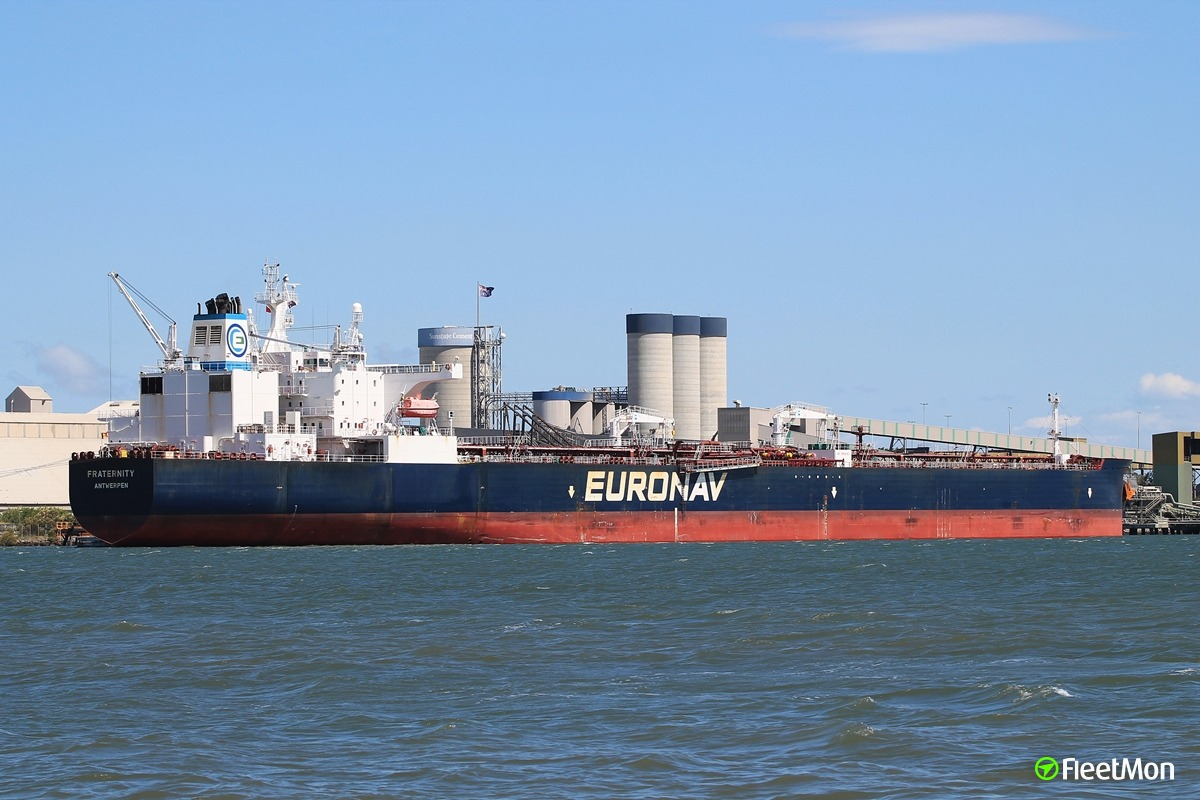 Suezmax FRATERNITY stranded in Atlantic, Argentine has no money to pay for oil