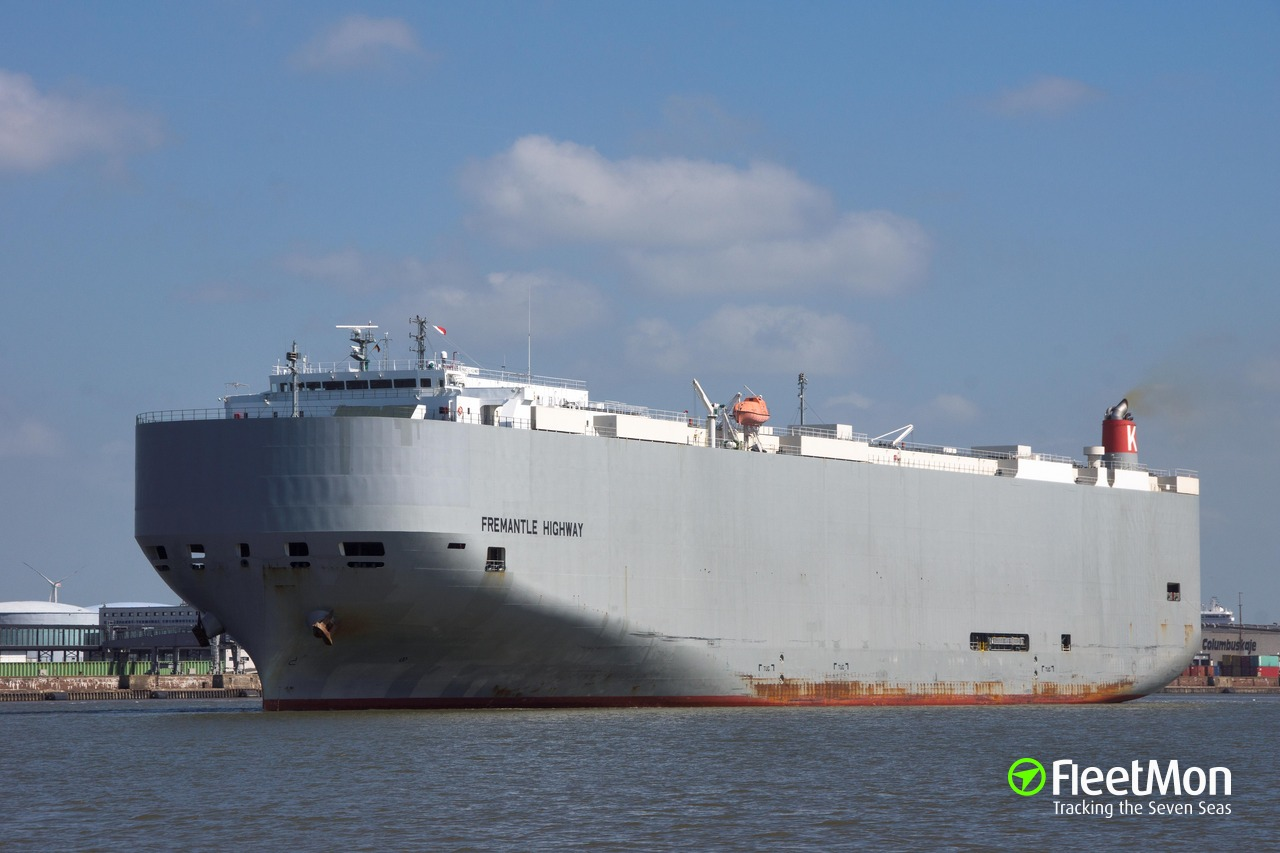 Vessel FREMANTLE HIGHWAY (Vehicle carrier) IMO 9667344, MMSI
