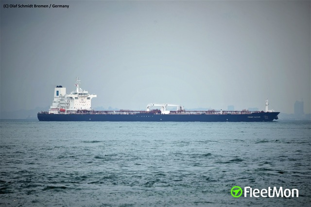 Two tankers attacked including Aframax, both hit, both on fire. UPDATES Mystery.