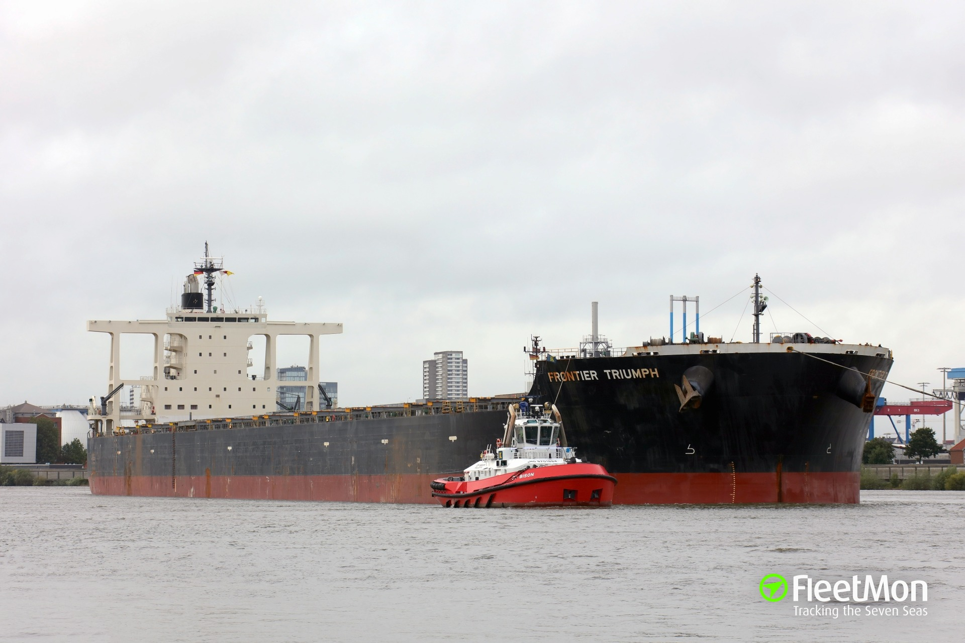 Japanese capesize FRONTIER TRIUMPH arrested, Master jailed, for using satellite phone Thuraya