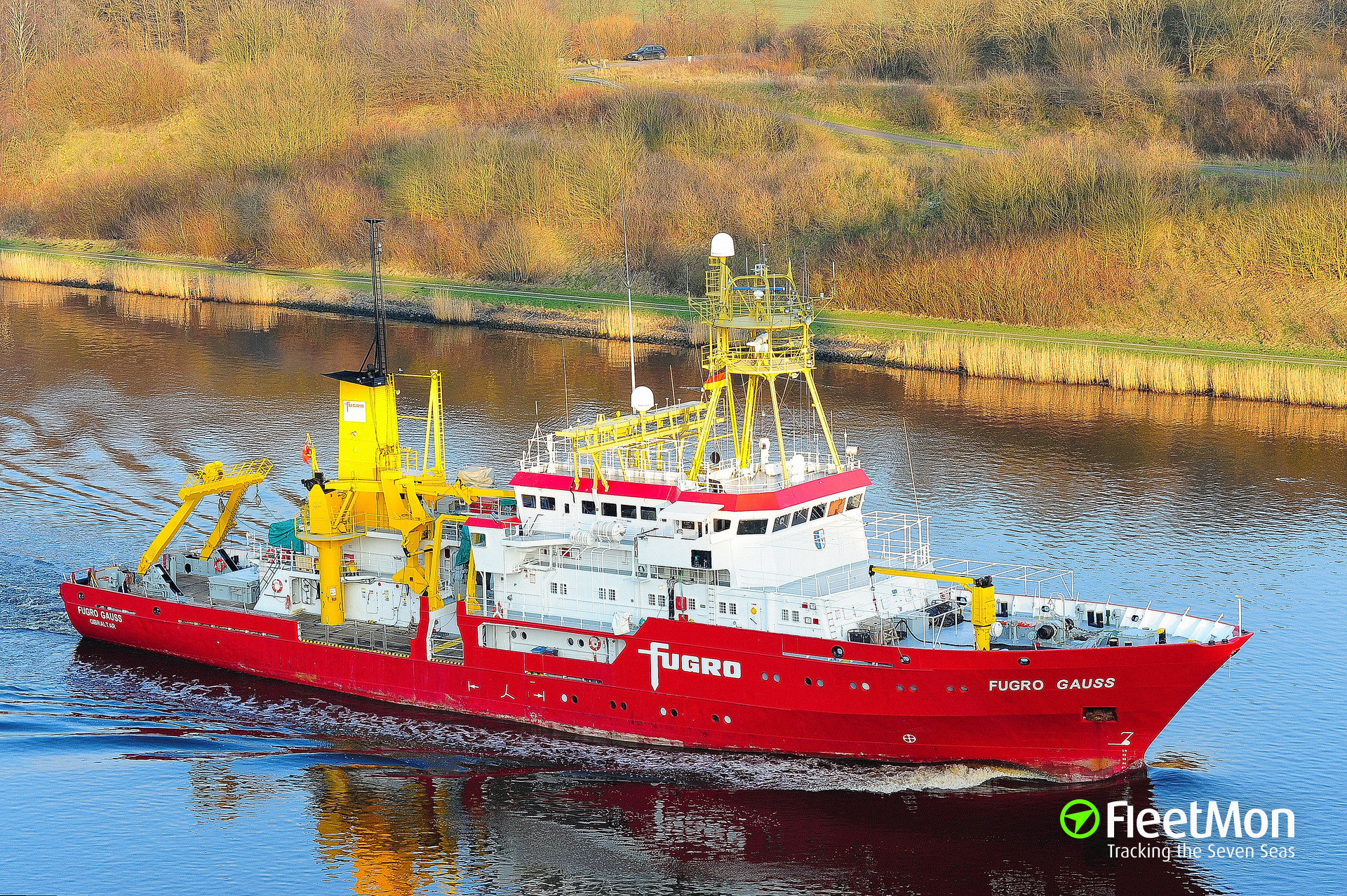 Gps Fleet Tracking Pricing >> FUGRO GAUSS (Research ship) IMO 7824883