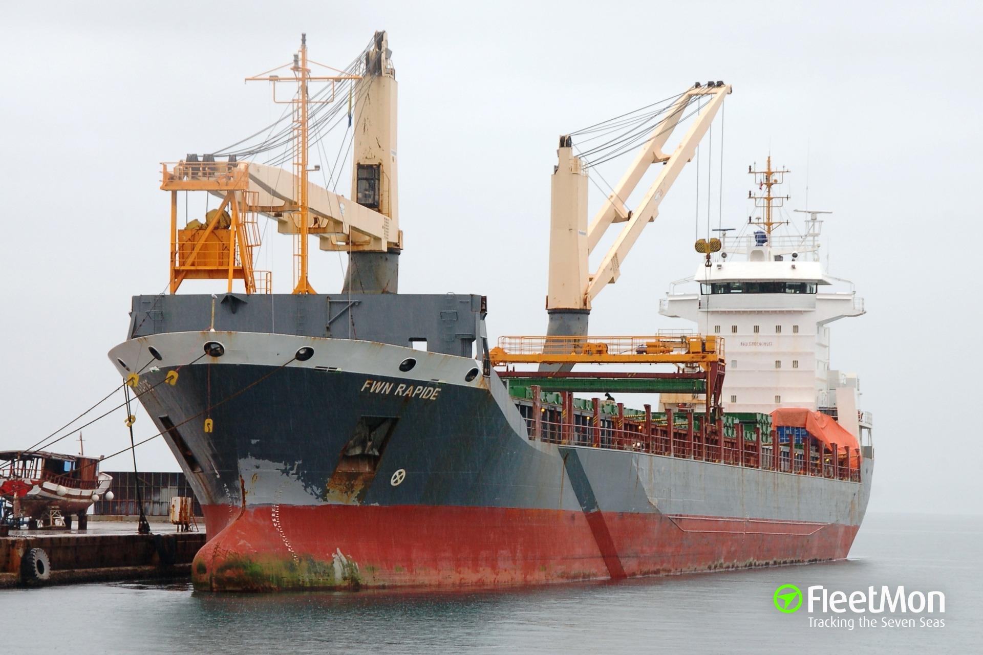 Ataque de cargueiro holandês: 1 tripulação escapou de seqüestro, encontrado