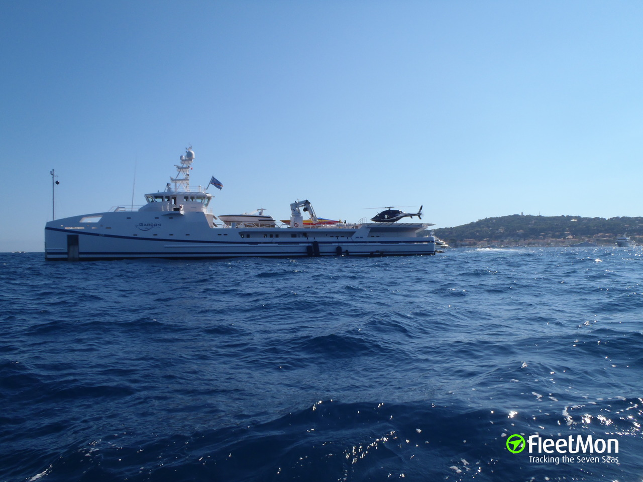 Garcon yacht imo 9587051