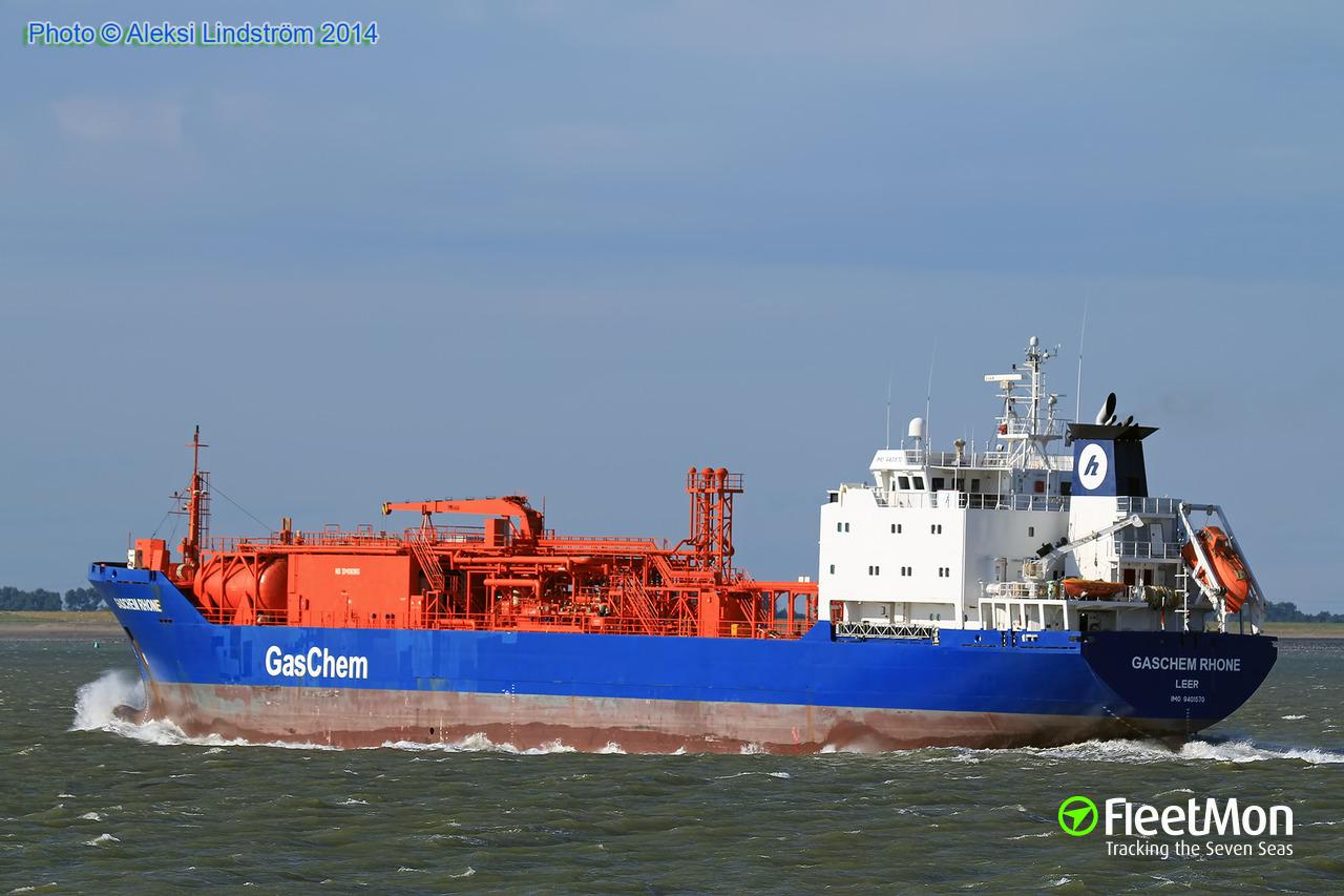 Photo Of GASCHEM RHONE (IMO: 9401570, MMSI: 218533000, Callsign: DCVJ2)  Taken By AJLship