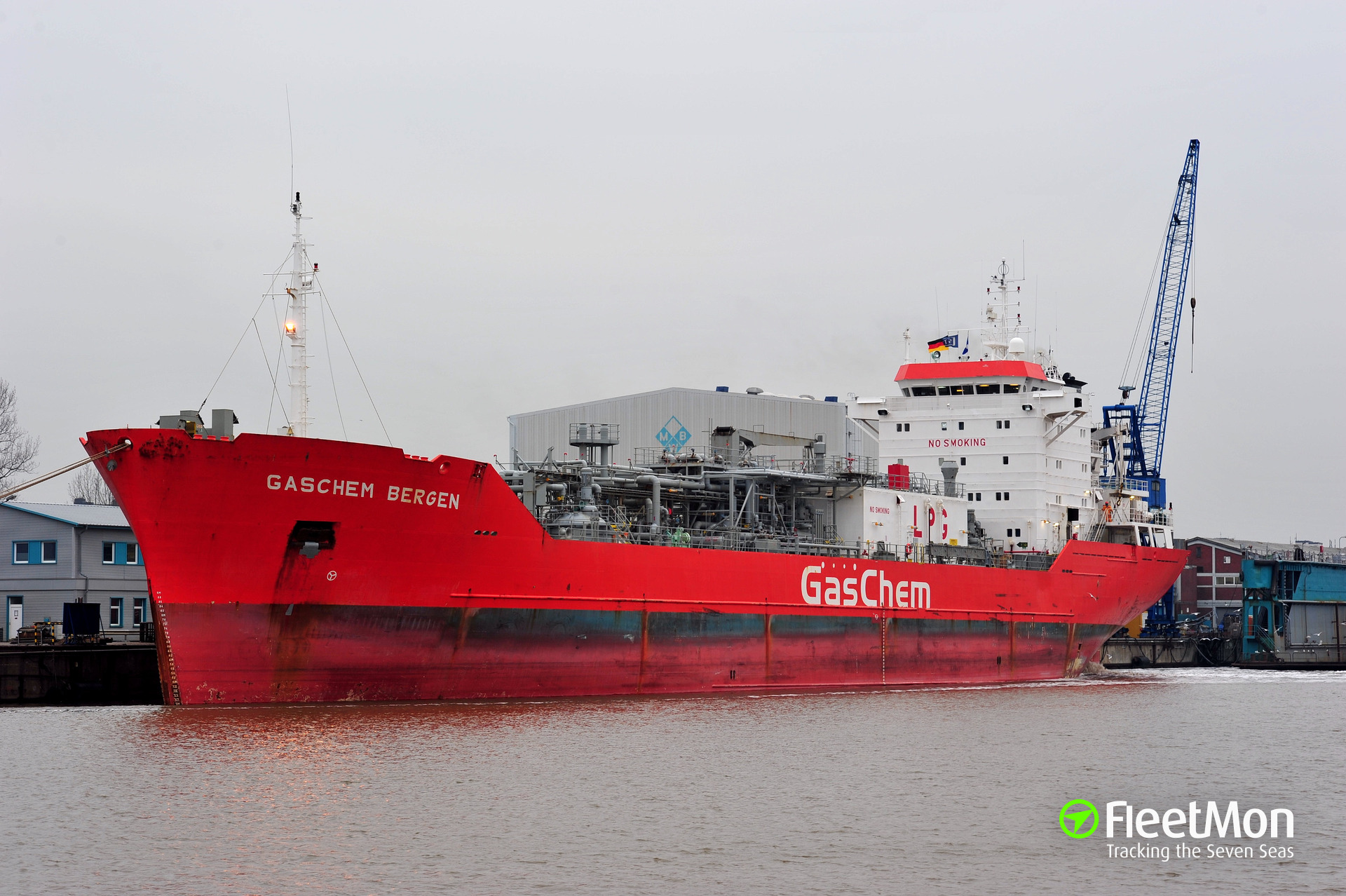 LPG tanker Royal Jade vs. offshore supply tug X Press 27