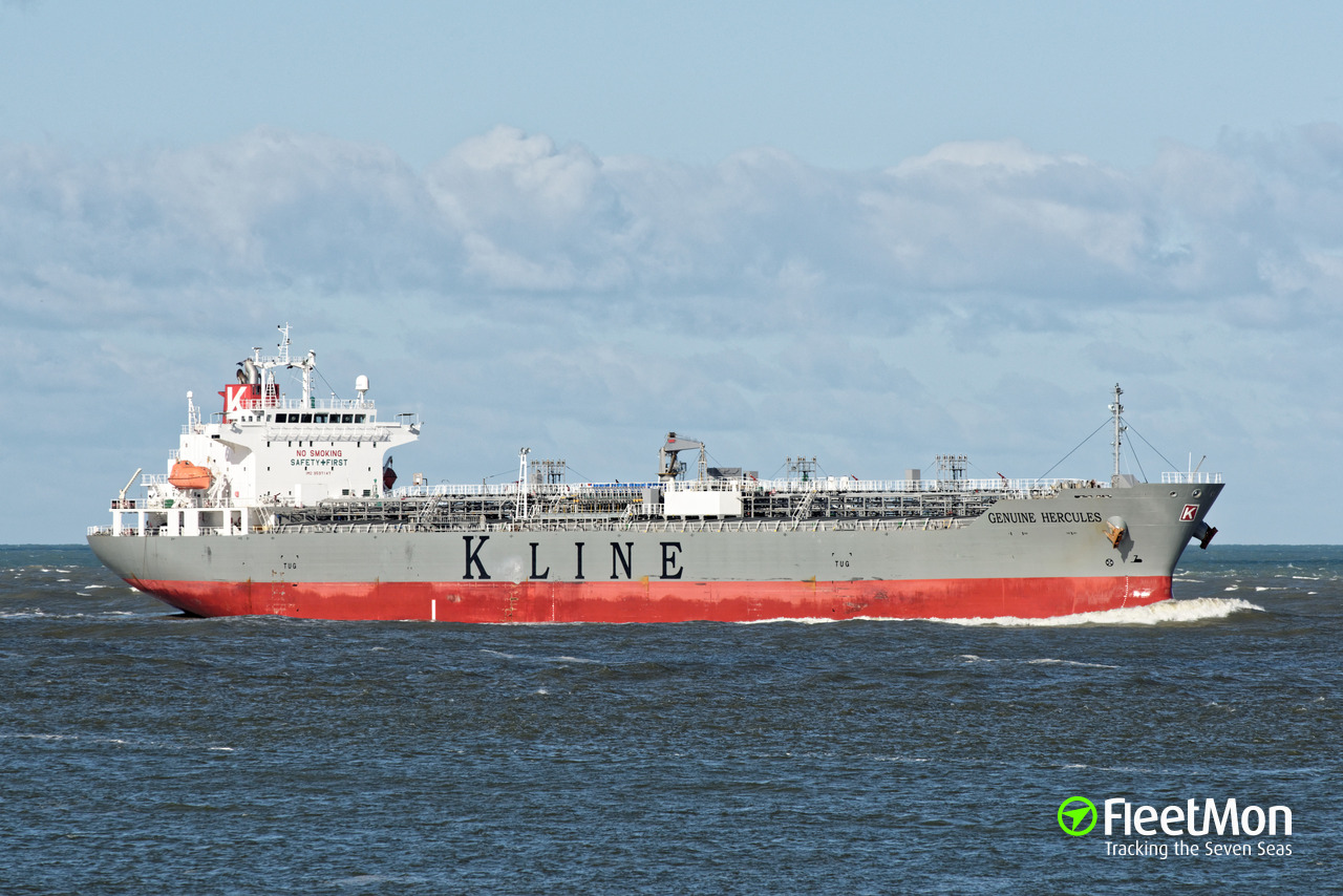 GENUINE HERCULES Oil Products Tanker IMO 9597147