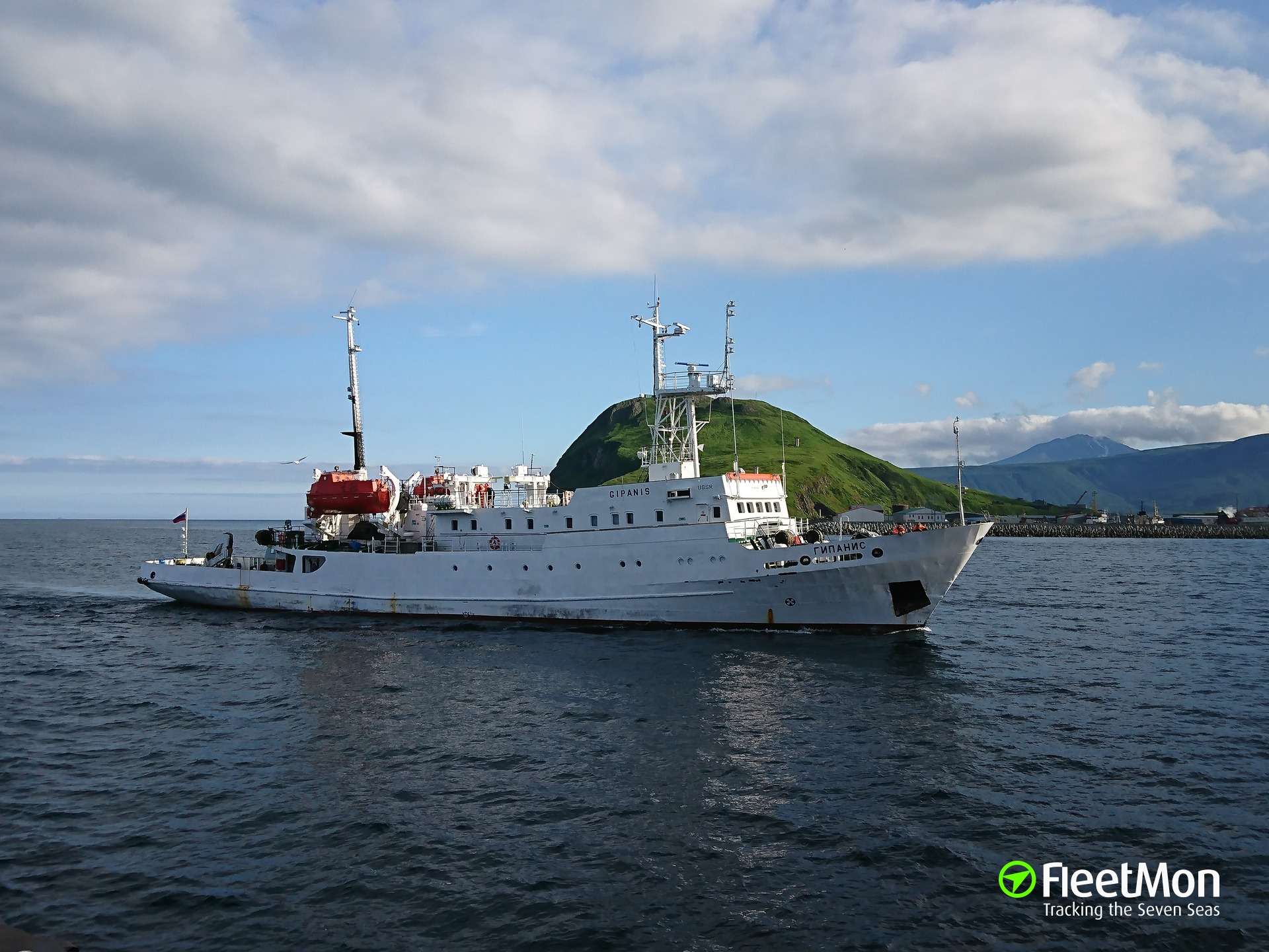 Passenger vessel grounded in First Kuril Strait