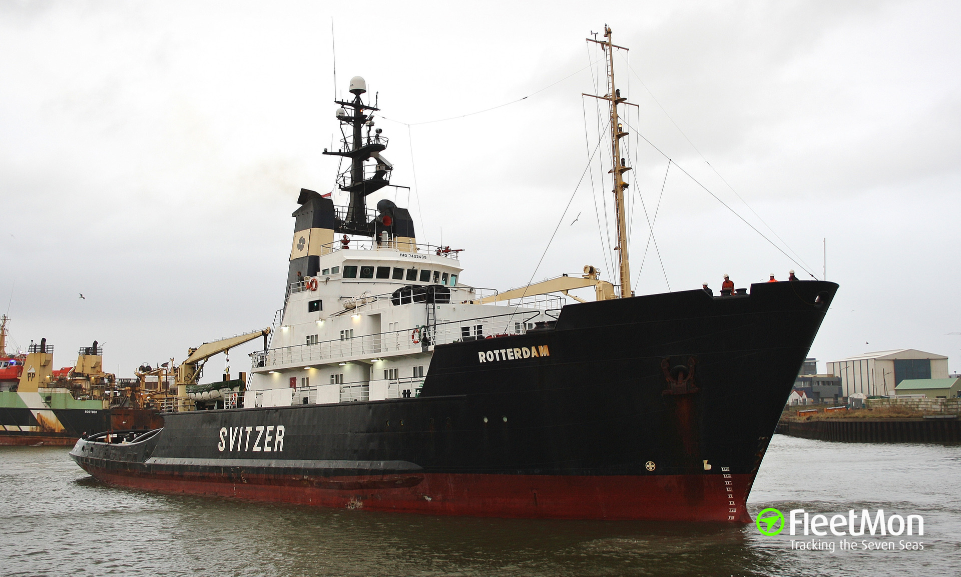 Disabled salvage tug Global Destiny towed to safety, Puerto Rico