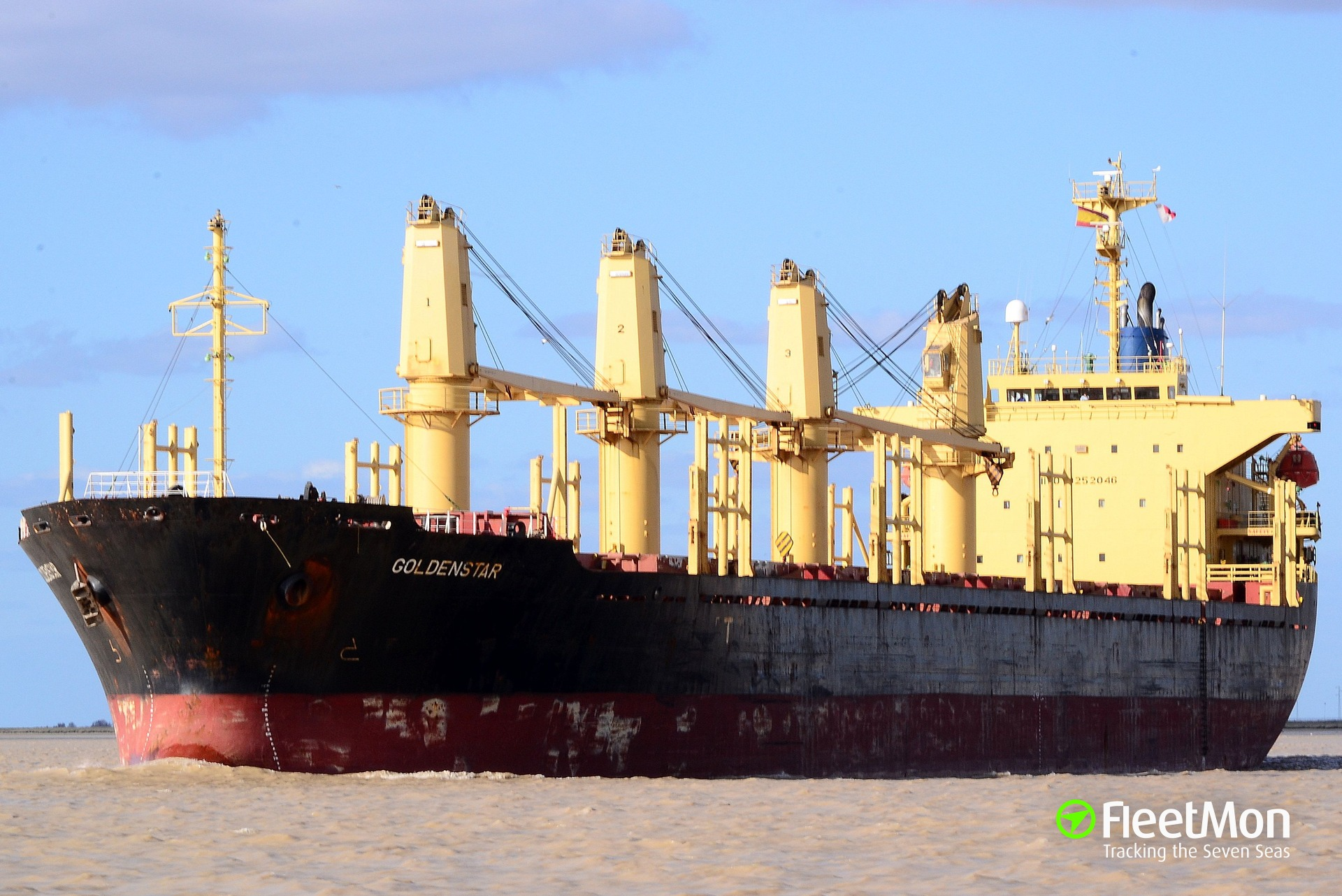 Lost bulk carrier found, under way after engine failure and blackout