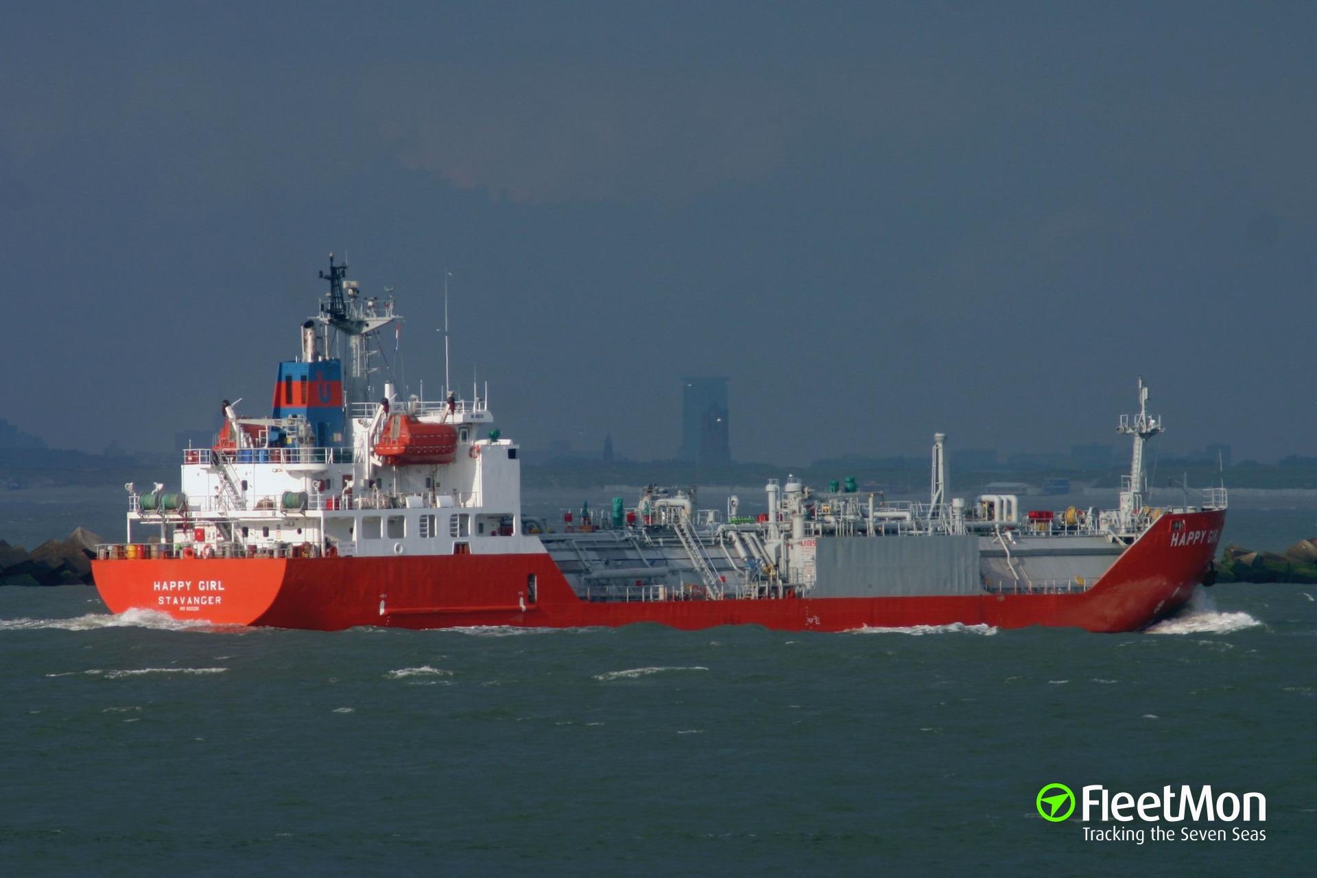 Turkish LPG tanker Blue Way violated EU sanctions