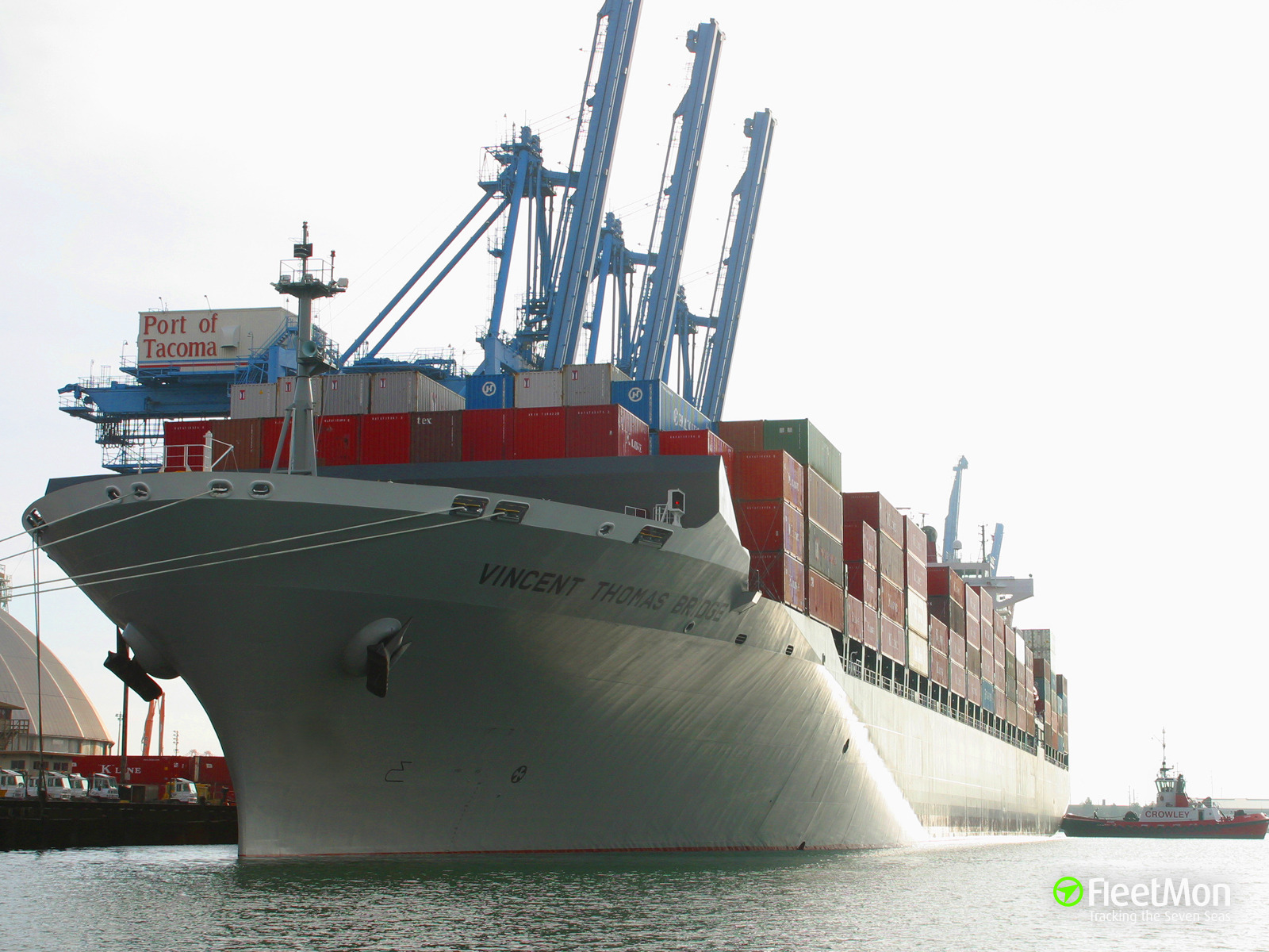 Boxship Grace Bridge reportedly involved in hit and run