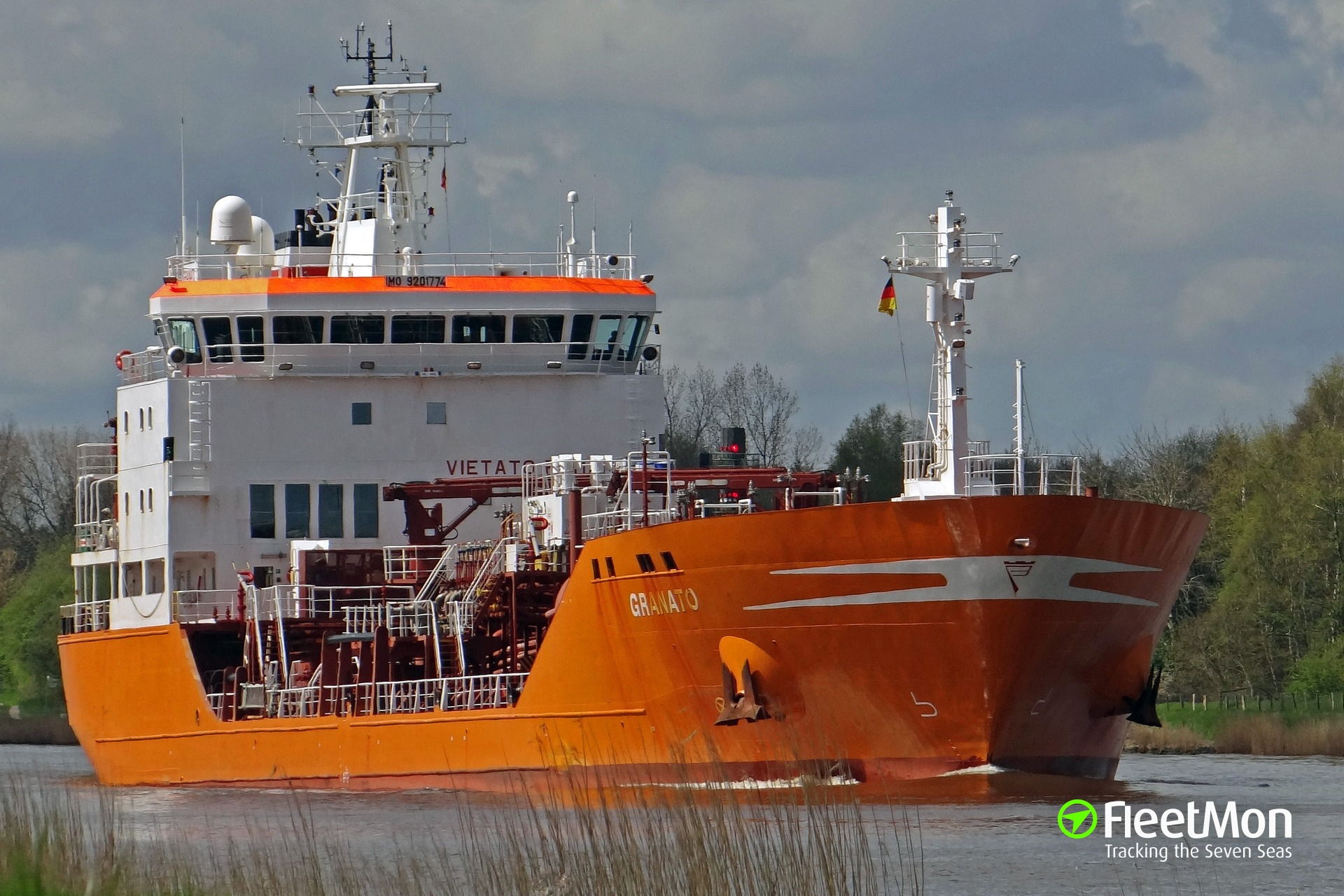 Product tanker Granato under quarantine in Spain after one crew died from infectious disease