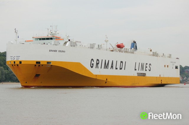 GRIMALDI car carrier Master reportedly medevaced, Spain