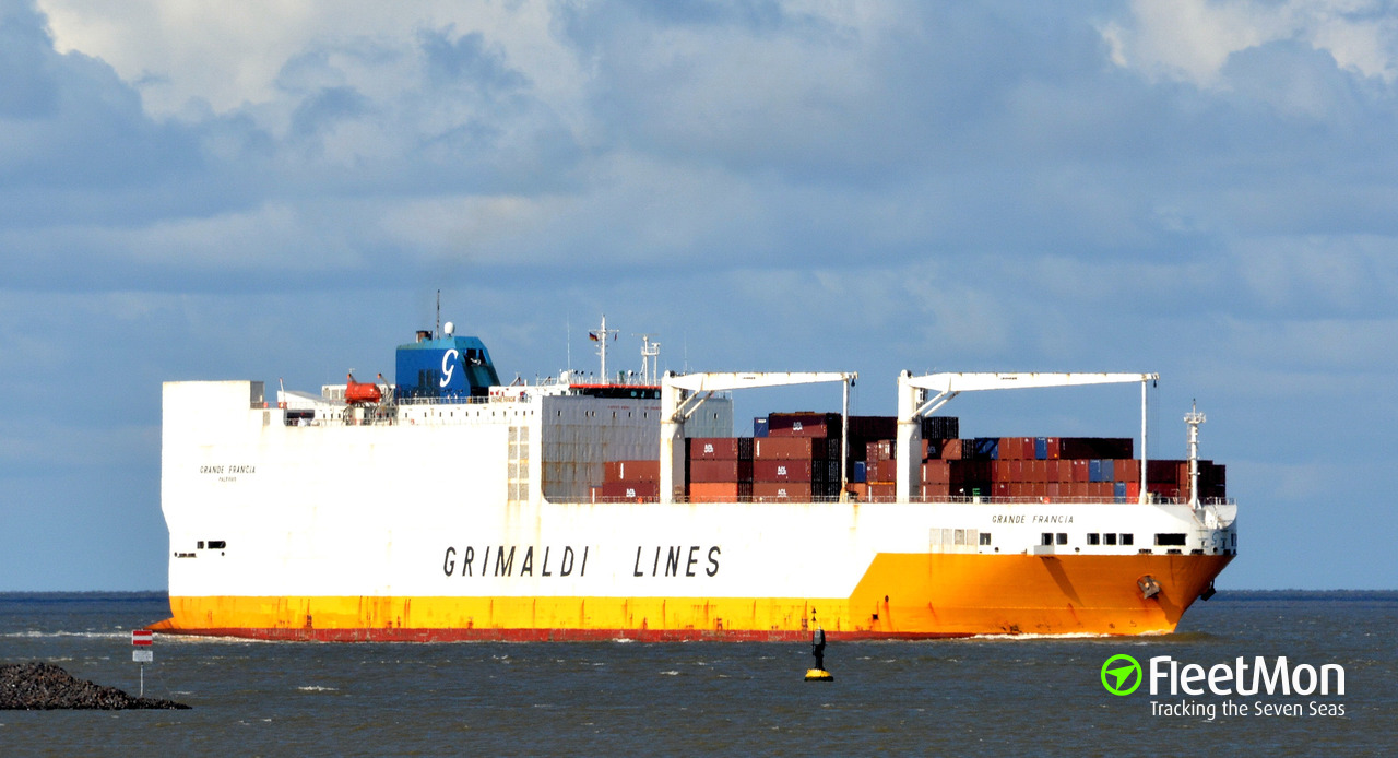 One more Grimaldi's ship in cocaine bust, again Santos, again 1.3 ton