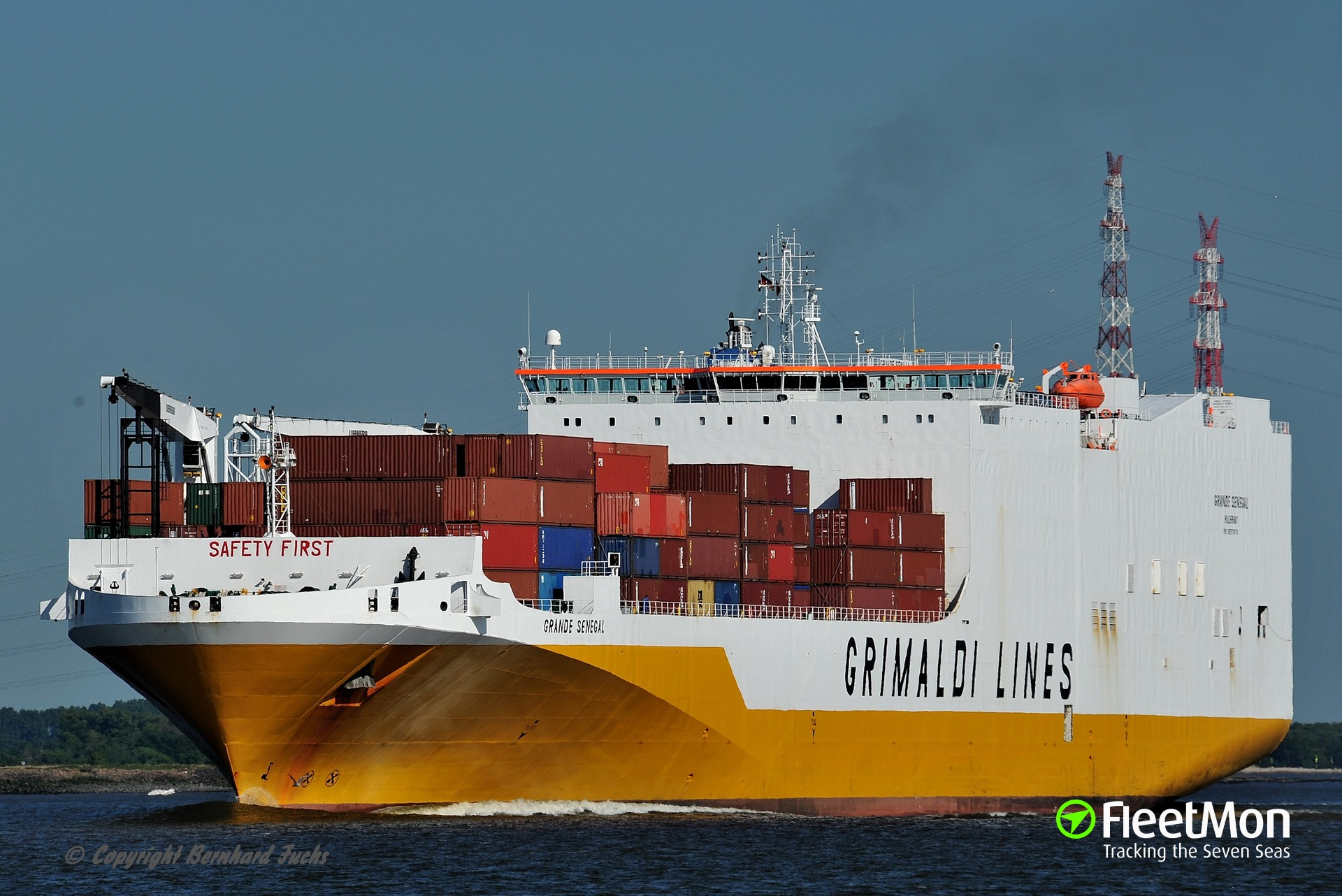 GRANDE SENEGAL troubled at Gibraltar harbor