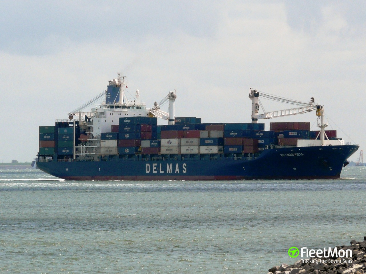 Gsl Keta Container Ship Imo 9225782