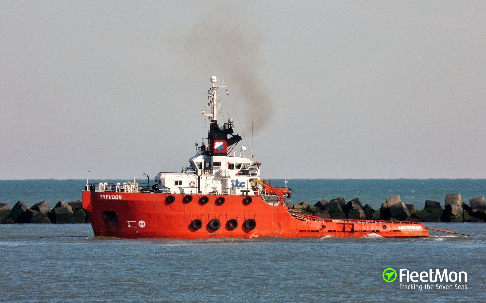 Offshore tug Gudri sank in bad weather, Nigeria