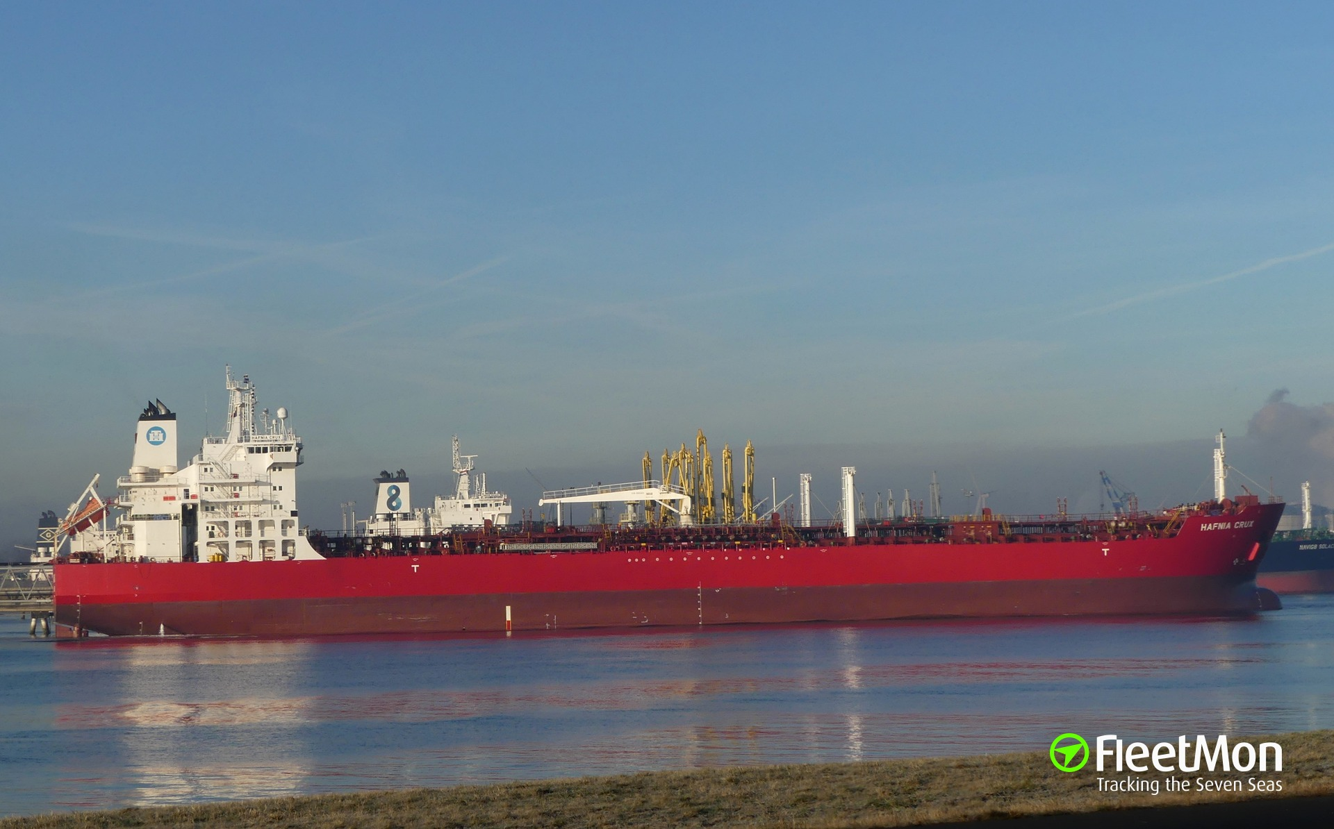 Danish tanker Hafnia Crux disabled in English Channel