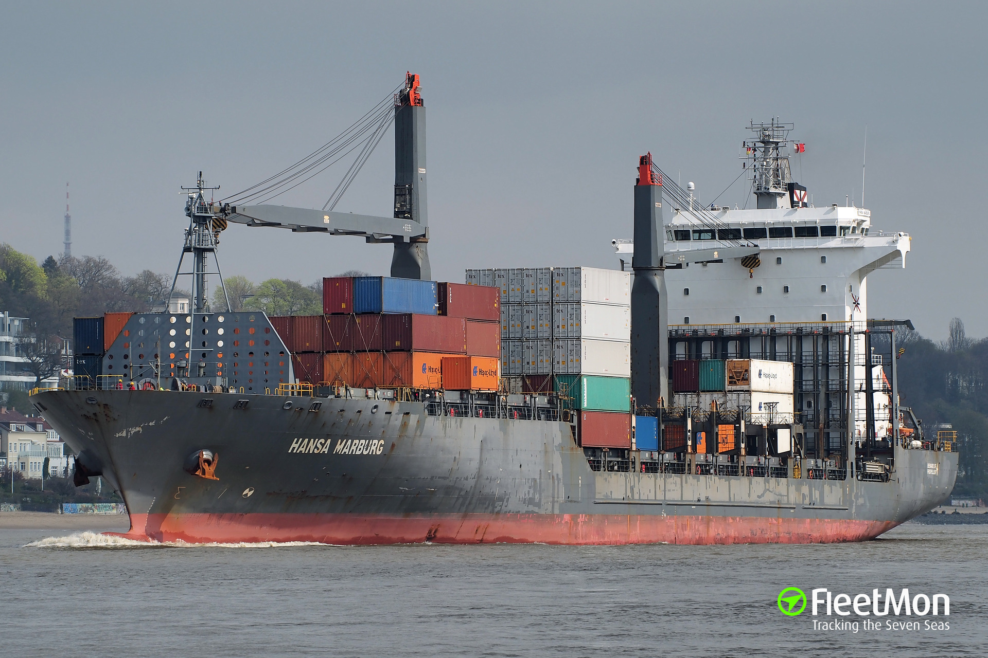 German boxship Hansa Marburg attacked by pirates, 4 crew hijacked, Nigeria