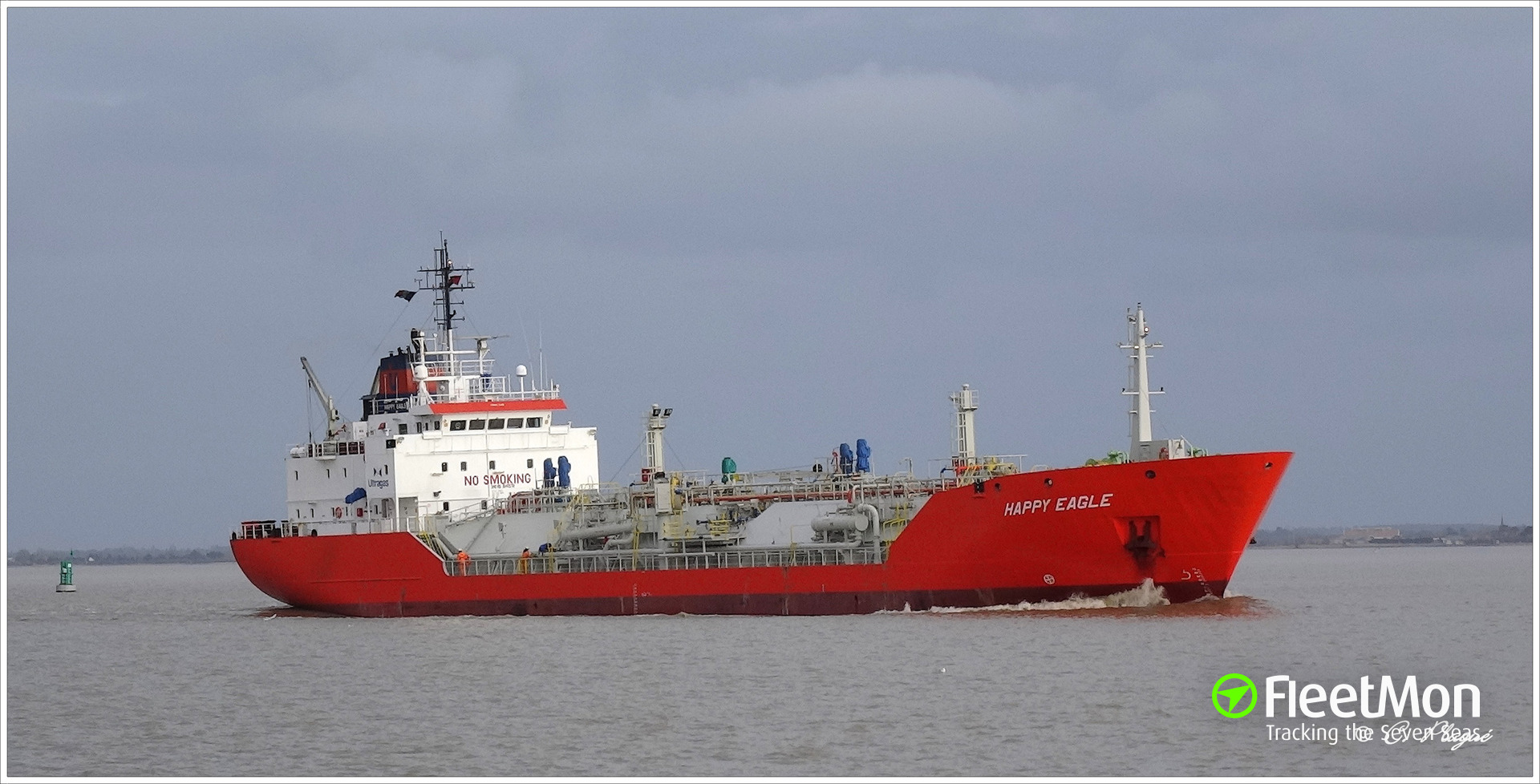 LPG tanker Happy Eagle collided with two bridges, Rotterdam