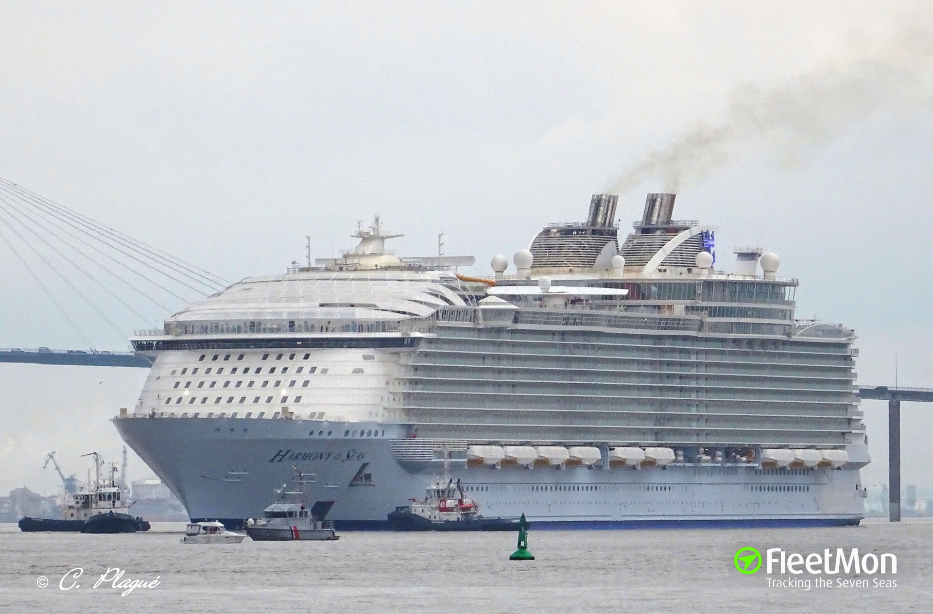 Harmony of the Seas to be homeported in Barcelona