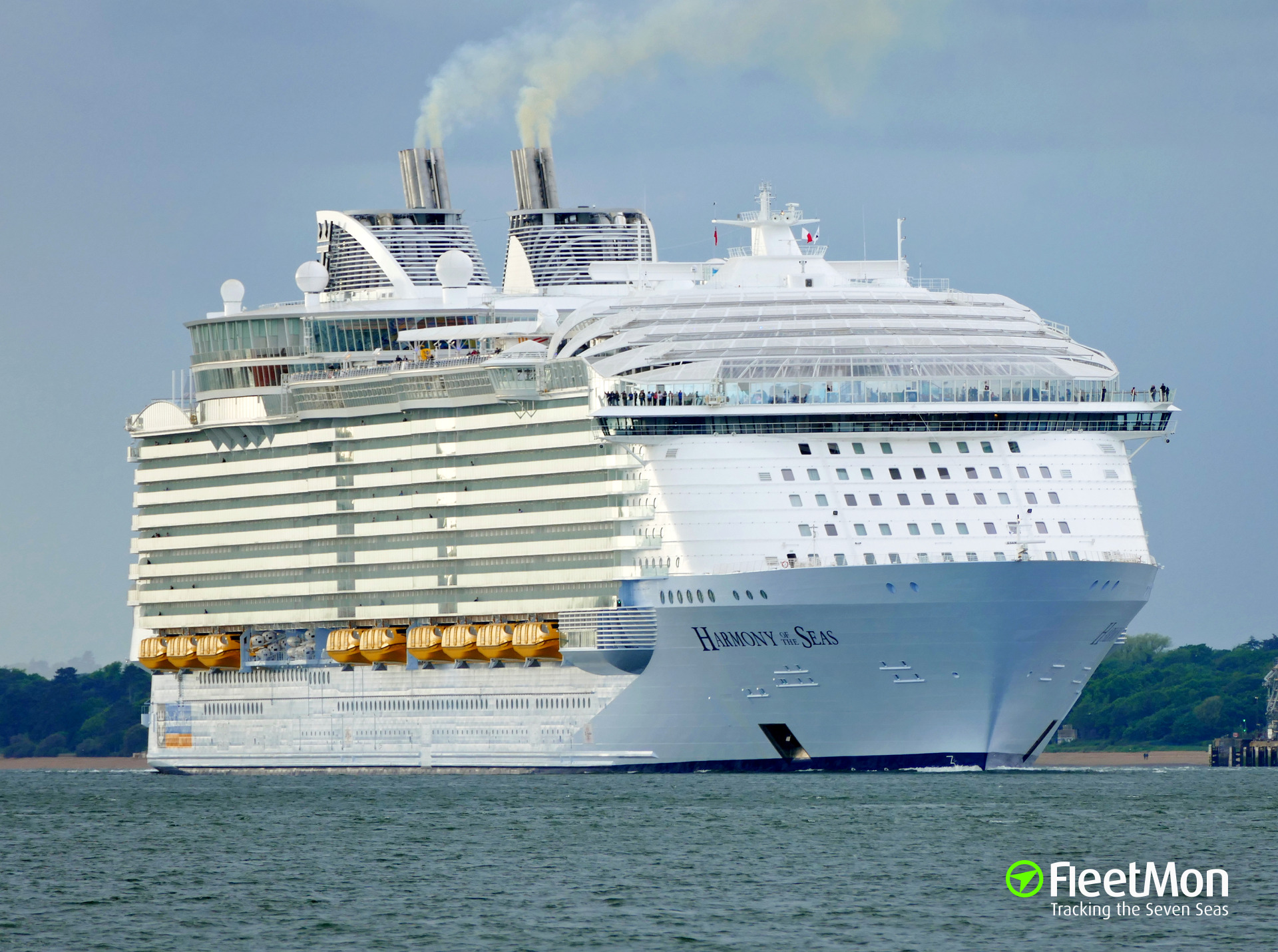 Photo Of Harmony Of The Seas Imo 9682875 Mmsi 311000396