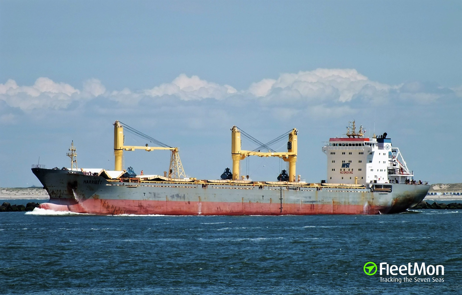 Bulk carrier grounding in White sea, Mar 19 Update