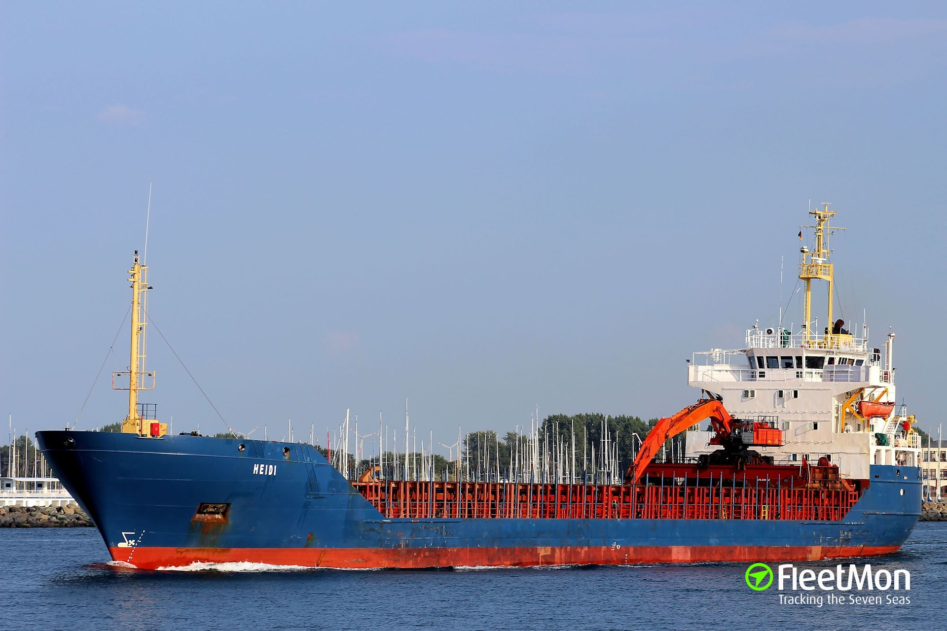 General cargo vessel Heidi deadly accident