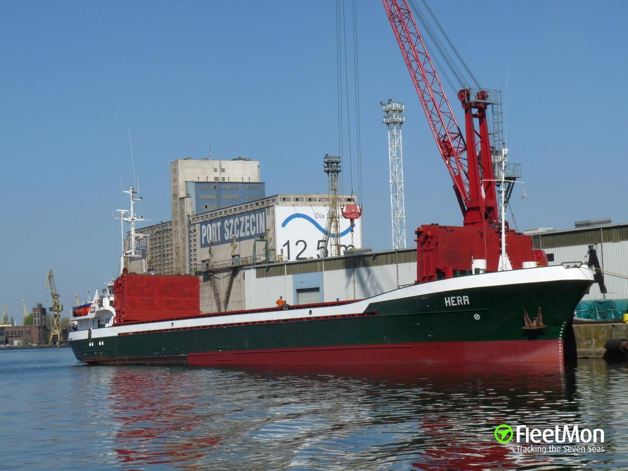 Vessel HERA (Cargo ship) IMO 7434078, MMSI 325466000